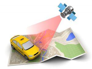 GPS volgsysteem auto
